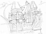 Academy architecture concept