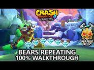 Crash Bandicoot 4 - 100% Walkthrough - Bears Repeating - All Gems Perfect Relic