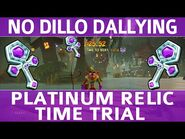 Crash Bandicoot 4 - No Dillo Dallying - Platinum Time Trial Relic (1-25