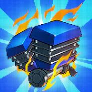 Turbo Track Super Engine Ad