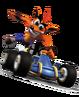 Crash Team Racing Crash Bandicoot Kart Promotional Model