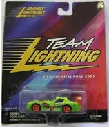 Johnny lightning crash car
