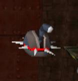 Crash 1 spiked probe