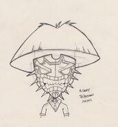 Twinsanity tribesman mask concept