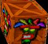 Crash Bandicoot 2 Cortex Strikes Back Aku Aku Crate.png
