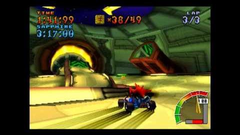 Oxide Station - Platinum Relic - Crash Team Racing - 101% Playthrough (Part 57)