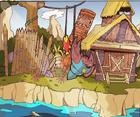 Totem hokum fishing concept