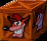 Crash Bandicoot 2 Cortex Strikes Back Crash Crate.png