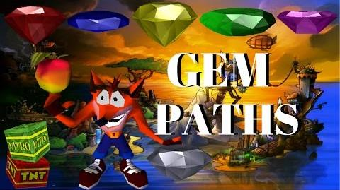 Crash Bandicoot 1 All Gem Paths With Commentary