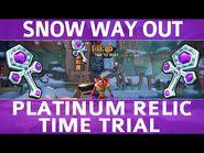 Crash Bandicoot 4 - Snow Way Out - Platinum Time Trial Relic (1-11