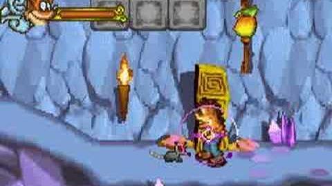Crash of the Titans GBA -Boss 2 - Tiny Tiger