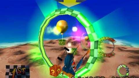 Rings of Power- Getting both Gems and a Platinum Relic at the same run - Crash Bandicoot 3- Warped