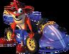 CNK crash kart render