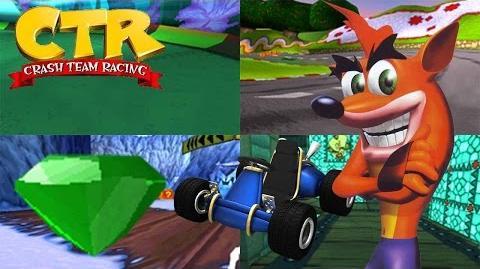 Crash Team Racing - Green Gem Cup-0