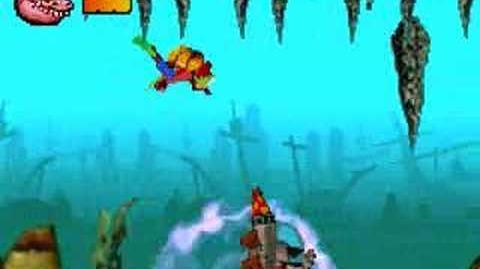 Crash Bandicoot The Huge Adventure Boss Dingodile