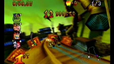 Crash Nitro Kart-Assembly Lane race