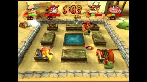 Desert Fox - Crystal - Crash Bash - 200% Playthrough (Part 28)
