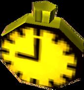 Crash Bandicoot 3 Warped Floating Clock
