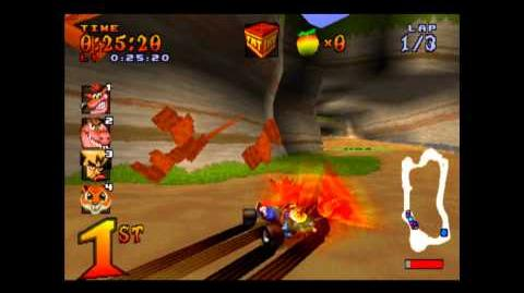 Crash Cove - Trophy Race - Crash Team Racing - 101% Playthrough (Part 1)