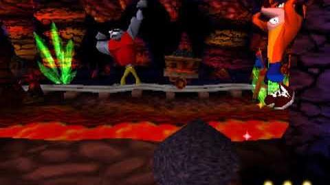 Crash Bandicoot - E3 Beta Version, Part 17 Koala Kong-1