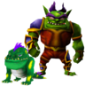Crash Nitro Kart Zam and Zem