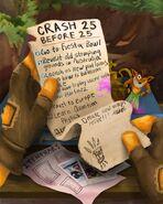 Crash's bucket list