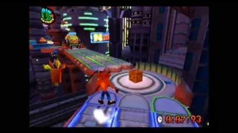Gone Tomorrow - Platinum Relic - Crash Bandicoot 3 Warped - 105% Playthrough (Part 54)