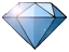 Blue gem icon twinsanity