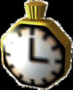 Floating Clock Warped