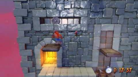 Crash Bandicoot Remaster - Slippery Climb, Platinum Relic