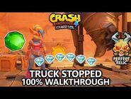 Crash Bandicoot 4 - 100% Walkthrough - Truck Stopped - All Gems Perfect Relic