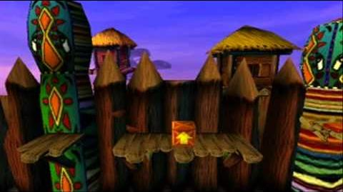 Crash Bandicoot Japanese Version 100% Part 53 - The Great Gate 2 2 - The Main Game