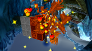 Cooch destroys crates