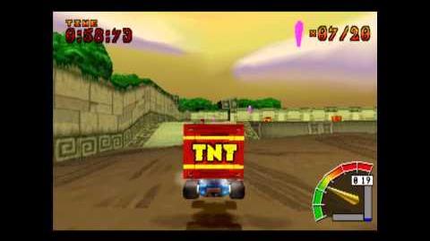 Rampage Ruins - CTR Challenge - Crash Team Racing - 101% Playthrough (Part 27)