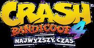 Crash Bandicoot 4 Polish Logo2