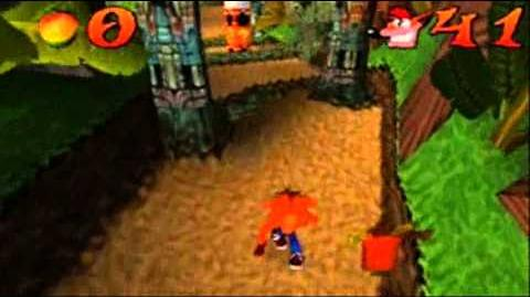 Crash Bandicoot Japanese Version 100% Part 10 - Jungle Rollers 2 2 - Dumb or something