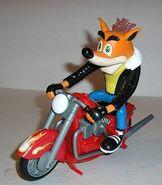 Biker crash model
