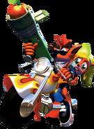 Crash Bandicoot 3 Warped Crash Bandicoot Coco Bandicoot Motorcycle