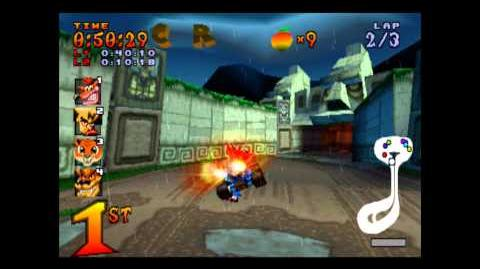 Tiger Temple - CTR Challenge - Crash Team Racing - 101% Playthrough (Part 29)
