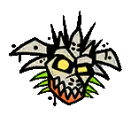 Apo-apo mask sticker