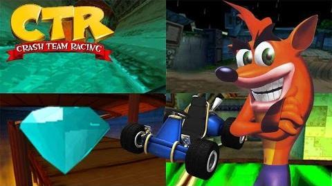 Crash Team Racing - Blue Gem Cup