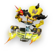 Dr Neo Cortex Crash On The Run Mobile