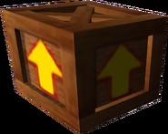Crash Bandicoot The Wrath of Cortex Wooden Arrow Crate