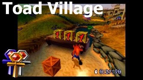 Toad Village - Platinum Relic - Crash Bandicoot 3 Warped - 105% Playthrough (Part 28)