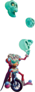 CB4IAT Skeleton Performer Juggler