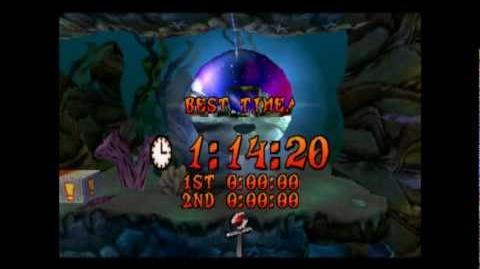 Deep Trouble - Platinum Relic - Crash Bandicoot 3 Warped - 105% Playthrough (Part 41)