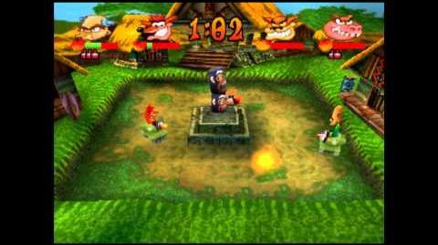 Jungle Fox - Crystal - Crash Bash - 200% Playthrough (Part 63)