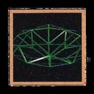 Crash 2 japanese gem outline