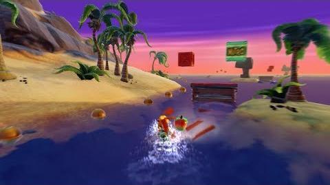 "Crash Bandicoot Warped ""N"