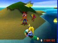 Fake Crash on island